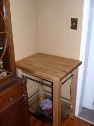 clearing away the clutter kelly j dahl columbus ohio life coach clean butcher block cart