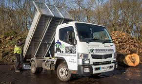 mitsubishi truck canter sparshatts delivers fuso canter tipper to forevergreen gardens