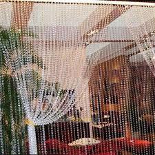 Beaded Window Curtains 1 Roll 30m Octagonal Acrylic Curtains Diy