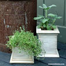 5 eye catching diy planters made with scrap wood