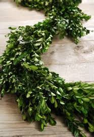 9ft faux boxwood garland garlands plastic and chang e 3