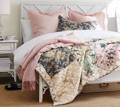 Bari Bedroom Furniture Bari Floral Patchwork Quilt Sham Pottery Barn