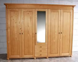 Schlafzimmerschrank Einbauschrank Kleiderschrank Schlafzimmer Schrank Drehtürenschrank Massiv Holz