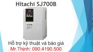 biến tần hitachi sj700b hướng dẫn cài đặt bien tan hitachi sj700b
