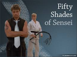 Karate Meme - fifty shades of sensei meme