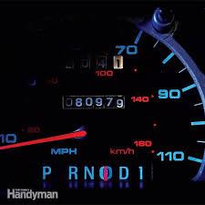 peterbilt dash warning lights how to replace dashboard lights family handyman