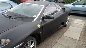 ferrari hatchback coupe peugeot 406 coupe turned into a ferrari f430 sort of
