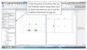 setting up a plan view to include overhead items such as ceiling
