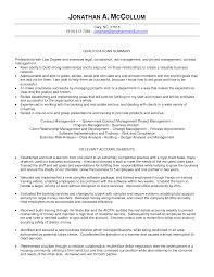 sample resume for business development sample resume for business manager cover letter sample resume for