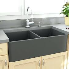 apron sink with drainboard kitchen with farmhouse sink upsiteme whitehaus new pertaining to 18