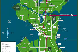 seattle map discovery park tacc 2016 seattle guide