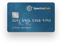 debit card bitcoin debit card spectrocoin