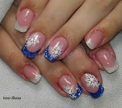 winter fingernail designs how you can do it at home pictures