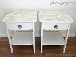 Hobby Lobby Table Bar Stools Img Paisley Table Makeover Chalk Paint Stencil Wide