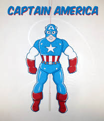 captain america free printable jumping jack toy