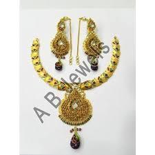 designer gold jewellery manufacturer from new delhi