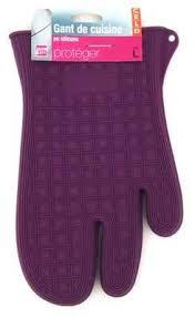 gant cuisine silicone gant de cuisine silicone pour four plat chaud violet amazon fr
