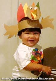 thanksgiving turkey hat kids turkey hat craft handmade color your own thanksgiving t