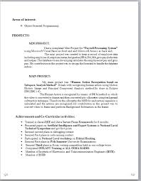 Sample Resume In Doc Format Phd Thesis On Personality Resume Leading Teams College Application