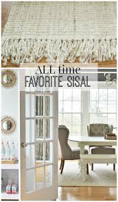 rug dining room my all time favorite sisal rug city farmhouse