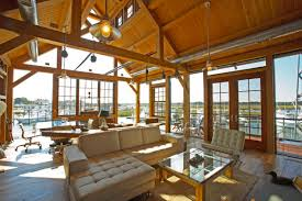 boat house inside interior decor