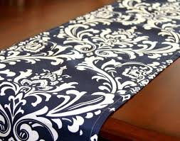 Navy Blue Table Runner Table Awesome Navy Blue Table Runner Brittany Kyle Centerpiece4