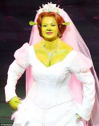 amanda holden ecstatic shrek musical preview
