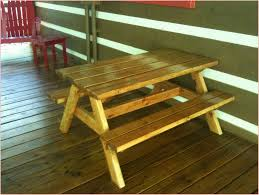 childrens wooden picnic table benches dashing x wooden picnic table outdoor lawn furniture outdoor wooden