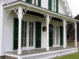 victorian style house front porch of old victorian style house stock photo picture and