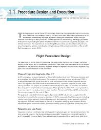 resource guide chapter 11 procedure design and execution nextgen for airports