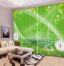 Modern Curtains For Kitchen by Online Get Cheap Green Kitchen Curtains Aliexpress Com Alibaba
