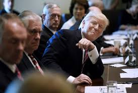 How Many Cabinet Positions Are There Trump Makes Bizarre Claims At Press Event As Cabinet Members Take