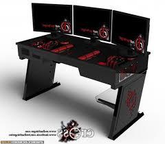 atlantic gaming desk setup ideas with regard to popular house pc