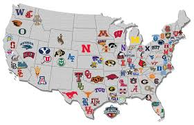 Tennessee Tech Map map of the day us college hoops map via nissanultimateacces