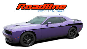 Dodge Challenger 2012 - dodge challenger body stripes vinyl graphics decal roadline 2011