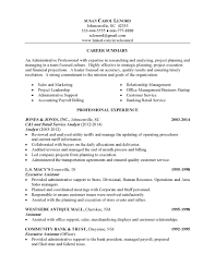Job Resume Summary Examples by Payroll Executive Resume Free Resume Example And Writing Download