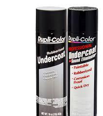 automotive undercoating aerosol dupli color