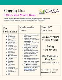 thanksgiving food drive by heels to heal casa