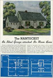 cape cod house plans with attached garage 1939 cape code with attached garage lewis manufacturing new