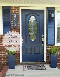 Tips For Curb Appeal - tips for a front door makeover before and after the gardening cook