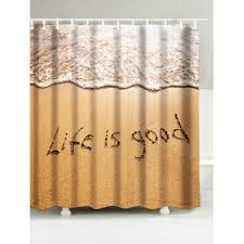 Words Shower Curtain Yellow Shower Curtain Cheap Casual Style Online Free Shipping At