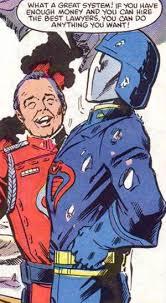 Cobra Commander Meme - when cobra commander says it you know it s a problem retro