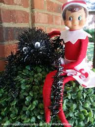 easy the elf on the shelf ideas elf friends a spider