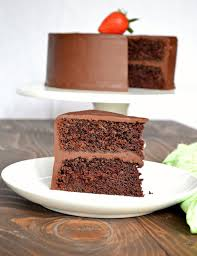 moist chocolate cake with ganache frosting serena bakes simply