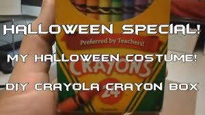 blue crayon halloween costume halloween special my halloween costume diy crayola crayon box