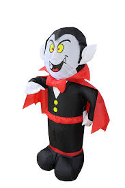 amazon com 4 foot halloween inflatable dracula vampire yard