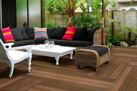 kontiki interlocking deck tiles deck in a walnut 44