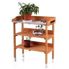 how to build a work table bench how to build a garden work bench potting workstation garden