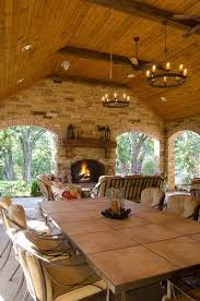 Classic Home Design 68 Best Outdoor Porches Fireplaces And Kitchens Images On