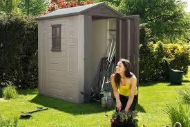 4x6 outdoor garden storage shed keter